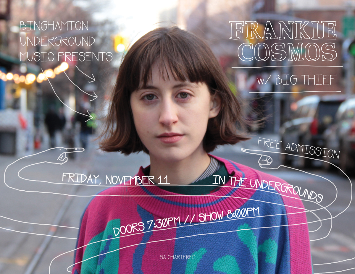 Promo photo of Frankie Cosmos in New York City